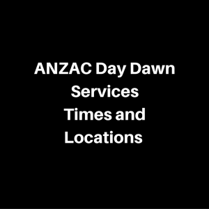 adelaide dawn services