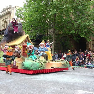Whats on adelaide Christmas pageant photo